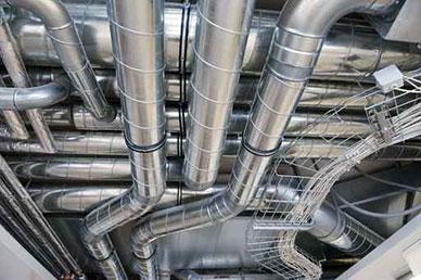 instalación de aire acondicionado industrial