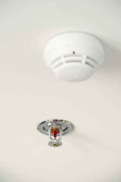 rociador para detector contra incendios