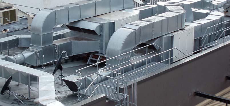 aire acondicionado industrial en Madrid
