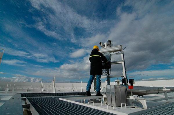 sistema de aire acondicionado industrial