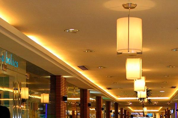 sistemas de iluminación para interiores