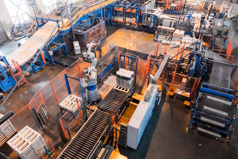 automatización en edificios industriales
